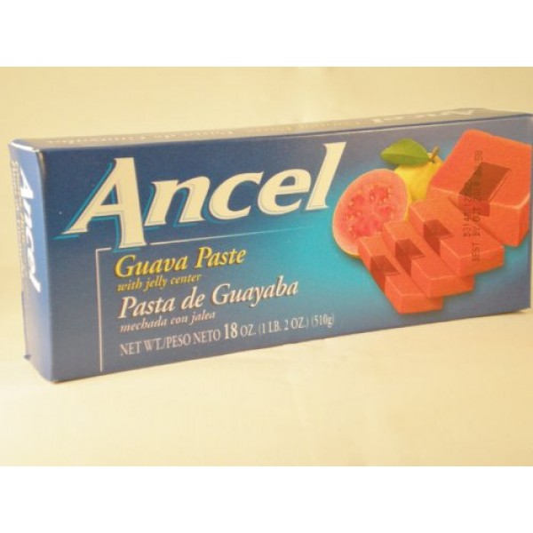 Ancel Guava Paste with Jelly Center 18 oz