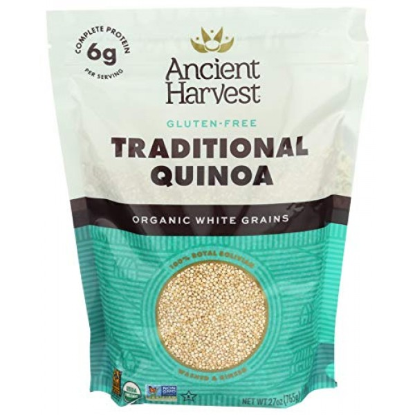 Ancient Harvest Organic Quinoa, Traditional, 27 oz. Bag, Essenti...