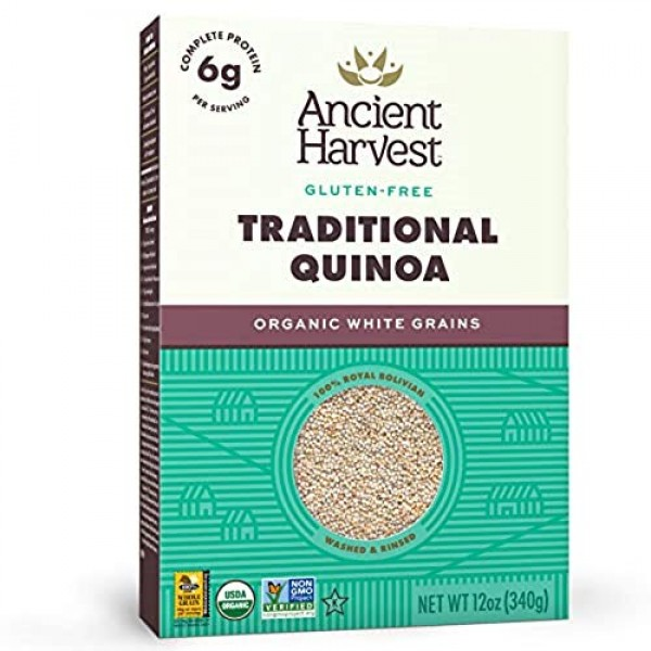Ancient Harvest Pre-Rinsed Organic Quinoa, Traditional, 12 Ounce...