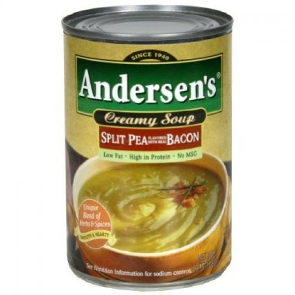 Andersens split pea soup with bacon 3 pack