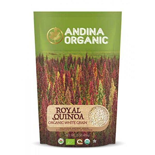Andina Organic - Pre-Washed Quinoa Organic Gluten-Free   Plant B...
