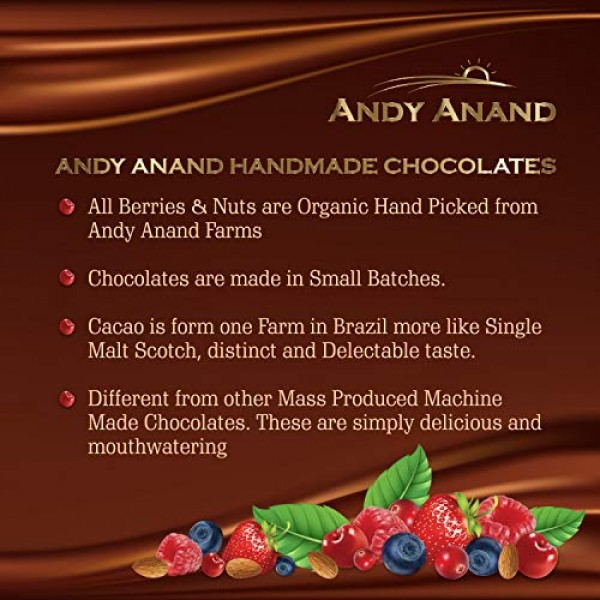 Andy Anand Old Fashioned Handmade Walnut Cherry Brittle made wit...