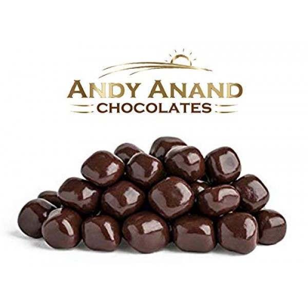 Andy Anand Vegan Dark Chocolate Covered California Ginger Wholes...