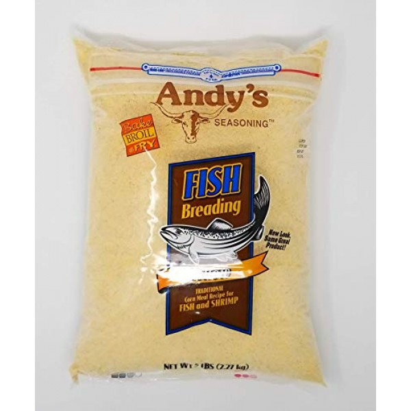 Andys Yellow Fish Breading, 5-pounds