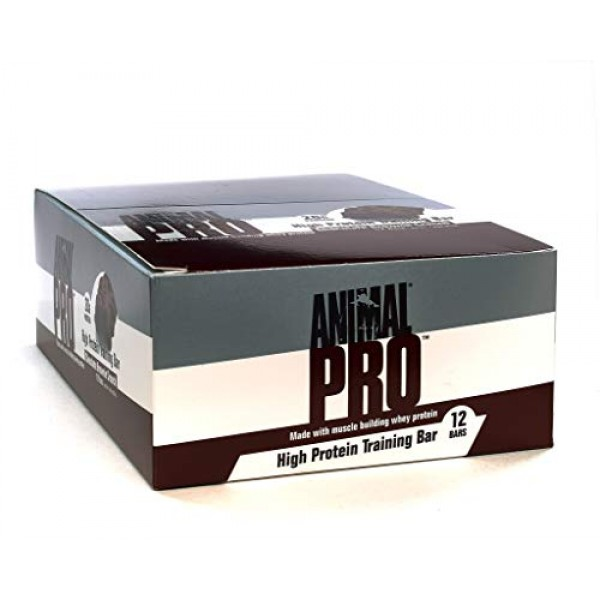 Animal pro Protein bar - Great Tasting, 20g Protein, pre/Post Wo...