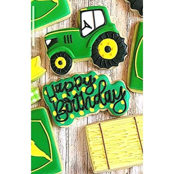 Ann Clark Cookie Cutters Leaf Green Food Coloring Gel, 20g