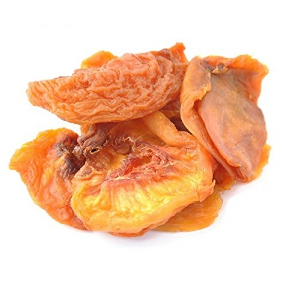 Anna and Sarah Dried Fancy Peaches in Resealable Bag, 2 Lbs