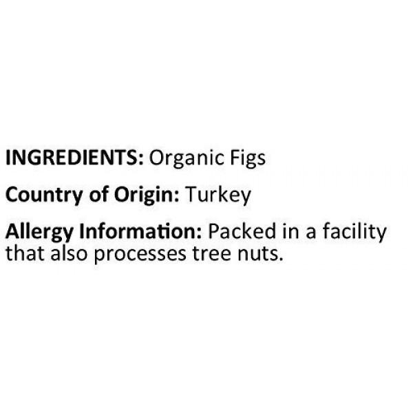 Anna and Sarah Organic Dried Turkish Figs, No Sulfur, No Sugar A...