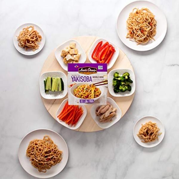Annie Chuns Yakisoba Noodle Bowl, Non-GMO, Vegan, Shelf-Stable;...