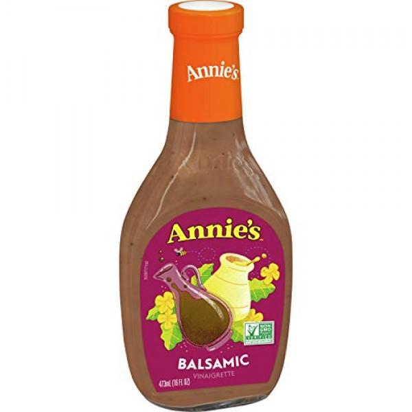 Annies Gluten Free Balsamic Vinaigrette Dressing 16 fl oz Bottle