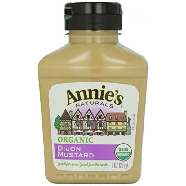 Annies Naturals Organic Dijon Mustard, 9 oz