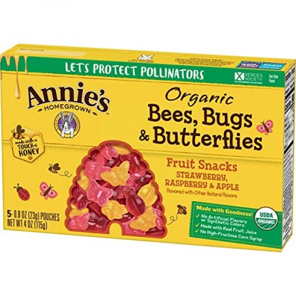 Annies Homegrown Homegrown Bees, Bugs, & Butterflies Fruit Snac...