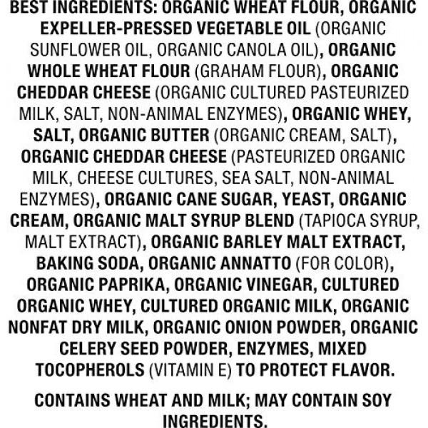 Annies Homegrown Organic Snack Mix Bunnies Cheddar, 9 oz