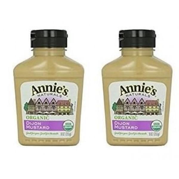 Annies Homegrown Organic Dijon Mustard - 9oz 2 Pack