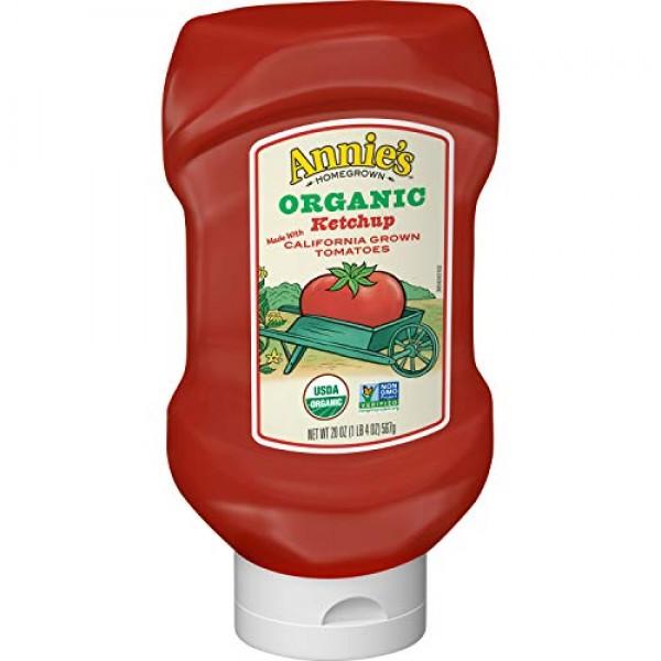 Annies Organic Ketchup, 20 oz