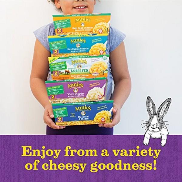 Annies White Cheddar Macaroni & Cheese, Microwavable Mac & Chee...