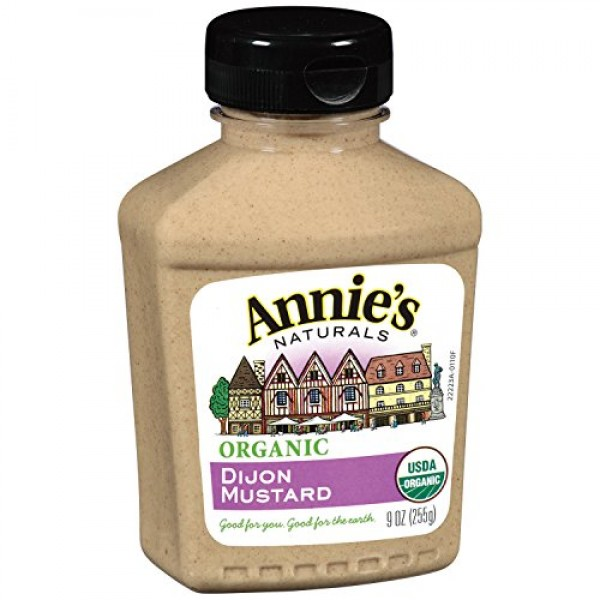 Annies Organic Dijon Mustard, 9-Ounces Pack of 6