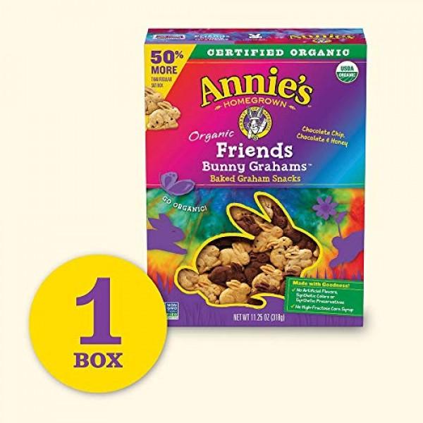 Annies Organic Friends Bunny Grahams Snacks, 11.25 oz