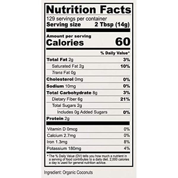 Anthonys Organic Coconut Flour, 4 lb, Batch Tested Gluten Free,...
