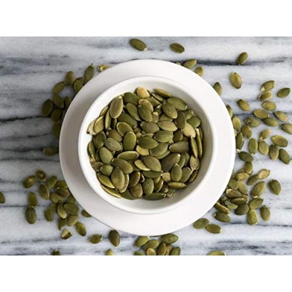 Anthonys Organic Pumpkin Seeds, 2 lb, Gluten Free, Non GMO, No ...