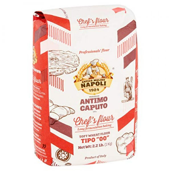 Antimo Caputo Chefs Flour 2.2 LB Case of 10 - Italian Double Z...
