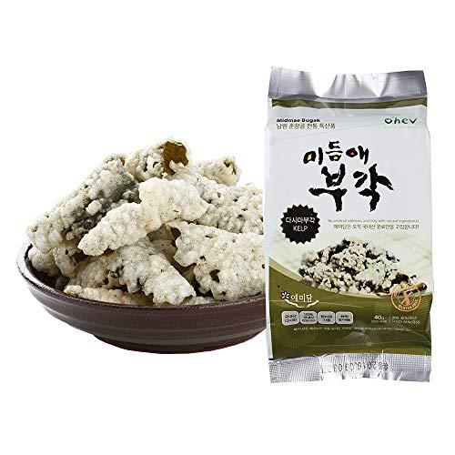 Seaweed Sweet Rice Crisps Kelp Flavor Crunch Bites Korean Snack ...