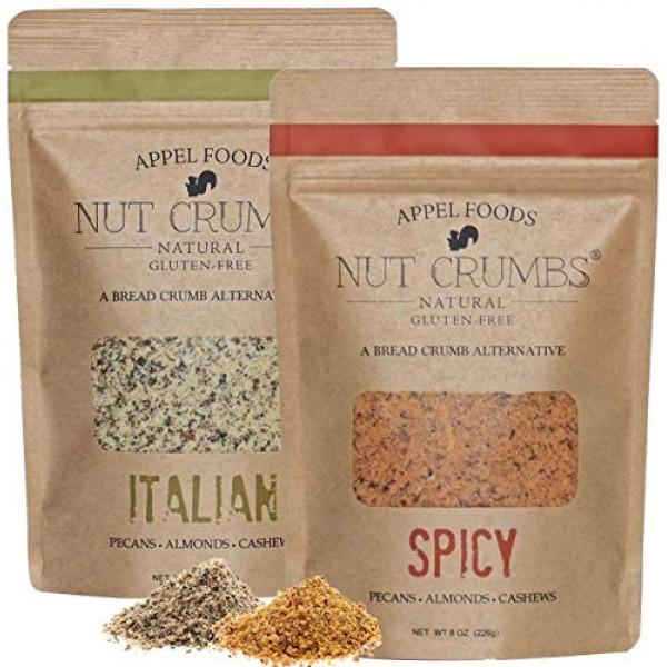 Appel Foods - Nut Crumbs - Bread Crumb Alternative - Gluten Free...