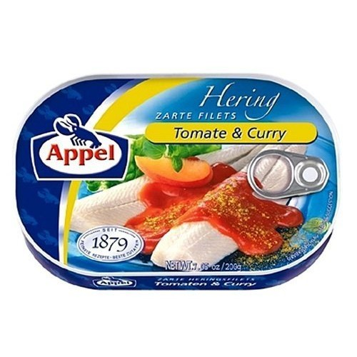 Appel Herring Fillets in Tomato & Curry Sauce-200g