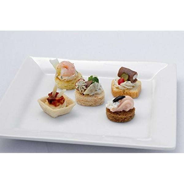 Cold Canapes Assortment - Gourmet Frozen Appetizers - 50 Piece ...
