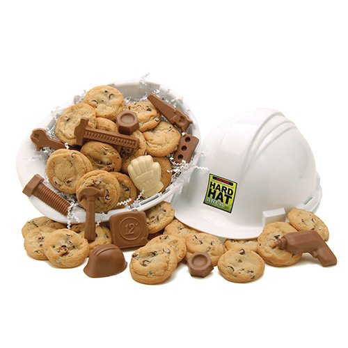 Hard Hat of Cookie and Chocolate Sweets Fresh Baked Cookies and ...