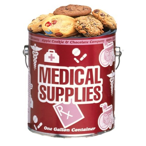 Medical Supplies Cookie Gallon - Chocolate Chip Baked Fresh by A...