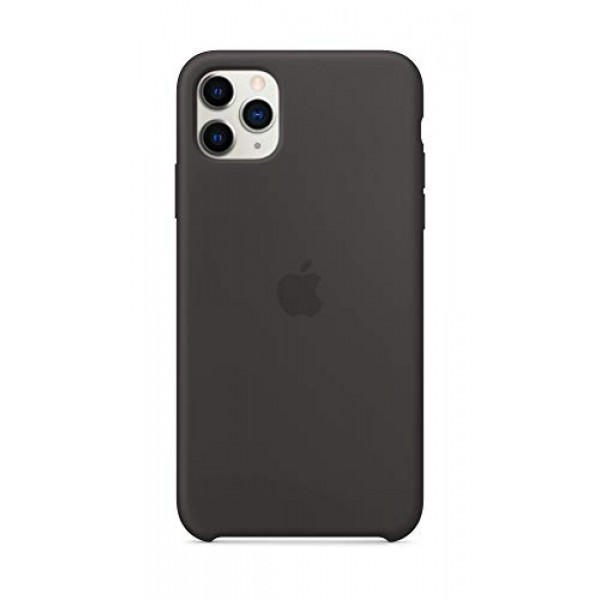 Apple Silicone Case for iPhone 11 Pro Max - Black