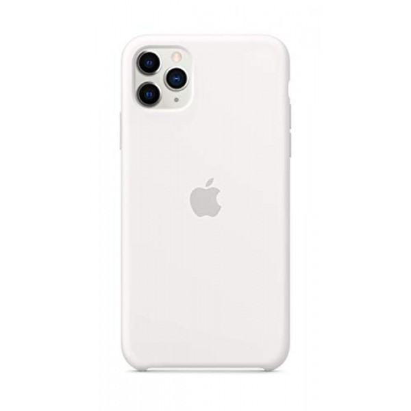 Apple Silicone Case for iPhone 11 Pro Max - White