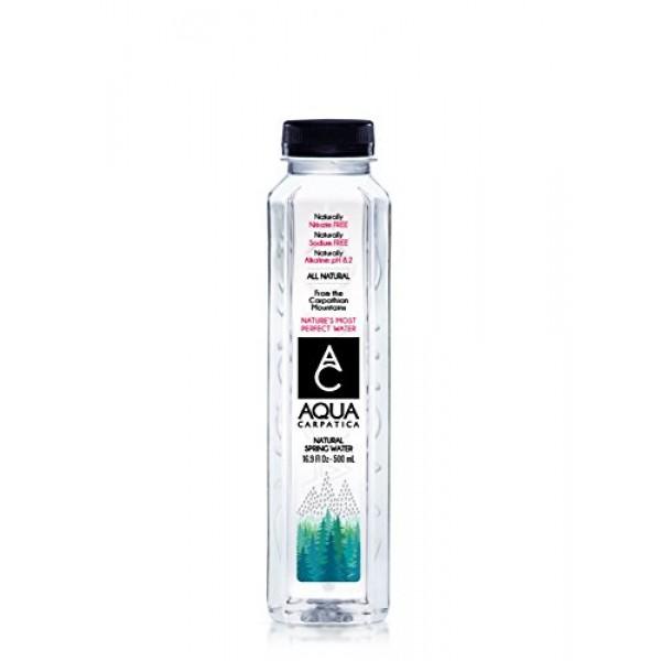 Aqua Carpatica Natural Spring Water Bottles, Naturally Filtered ...