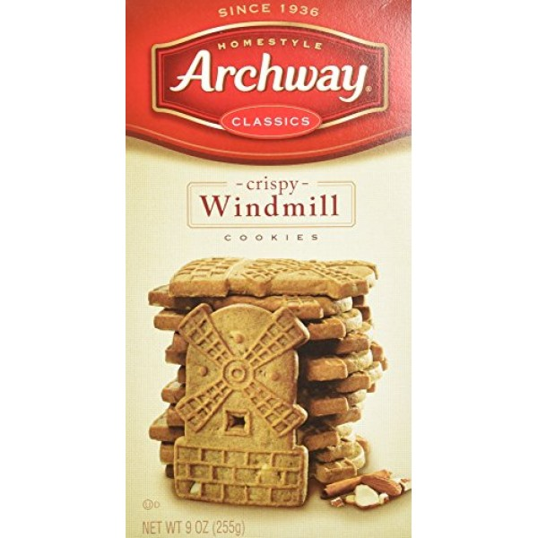 Archway, Original Windmill Cookies, 9 Ounce 3 Boxes