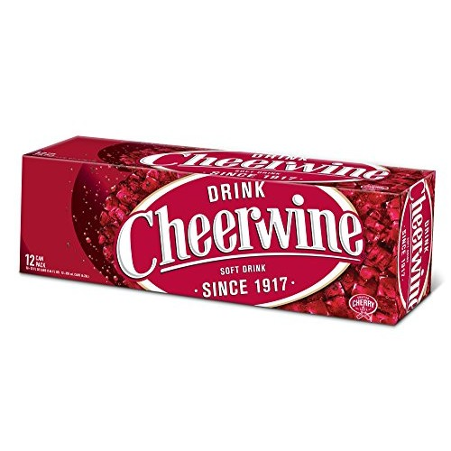 Cheerwine Cherry Fridge Pack Soft Drink, 12 Ounce 12 Cans