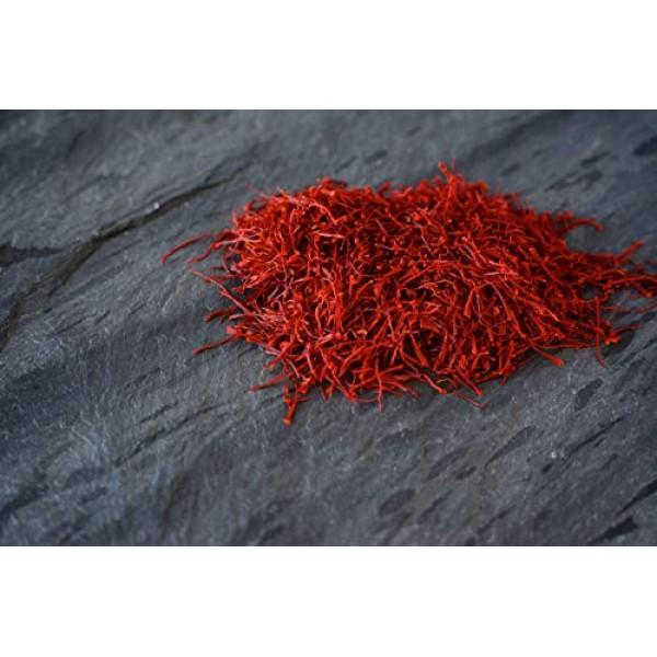 Aria Saffron, Superior All Red Filament Saffron Threads, Grade A...