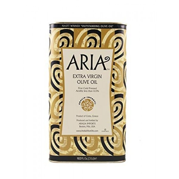 Aria Greek Award Winning Extra Virgin Olive Oil from Western Cre...