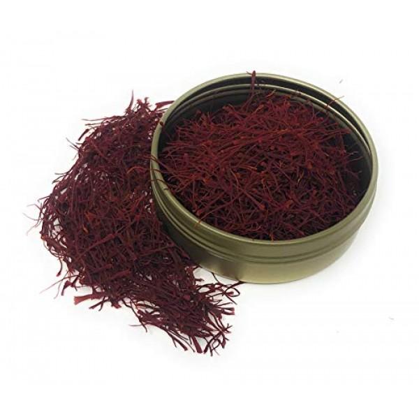 Ariana Saffron Threads, All-Red Saffron Spice - Organically Grow...