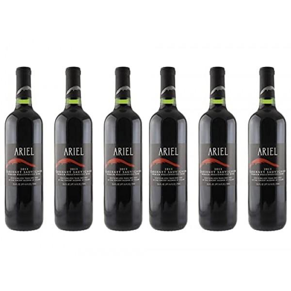 Ariel Cabernet Sauvignon Non-alcoholic Wine 6 Pack
