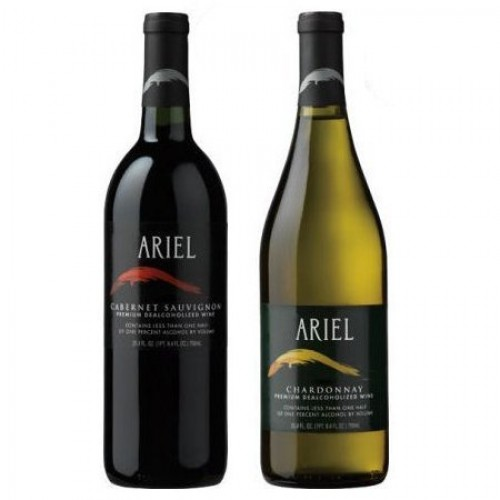 Ariel Non-alcoholic Wine Two Pack - Includes Ariel Cabernet and ...