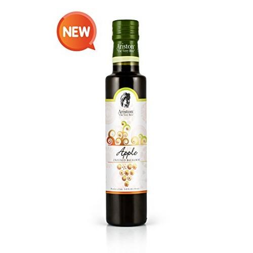 Ariston Apple Infused Sweet Balsamic Vinegar 8.45 fl oz Premium ...