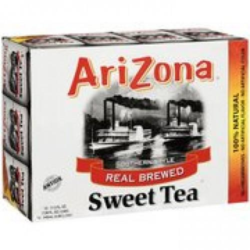 Arizona Southern Style Real Brewed Sweet Tea, 11.5 oz, 12ct(Case...