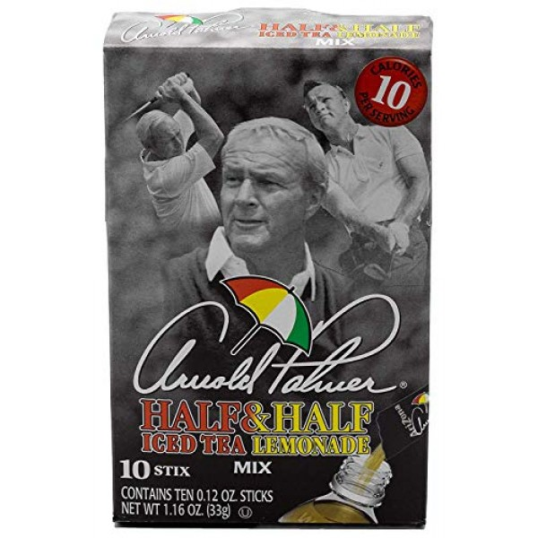 Arizona Arnold Palmer Half & Half, 1.27 Ounce 1 Box, 10 Sticks ...