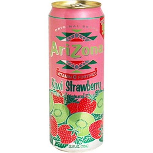 Arizona Kiwi/Strawberry Tea, 23.5000-Ounces Pack Of 24