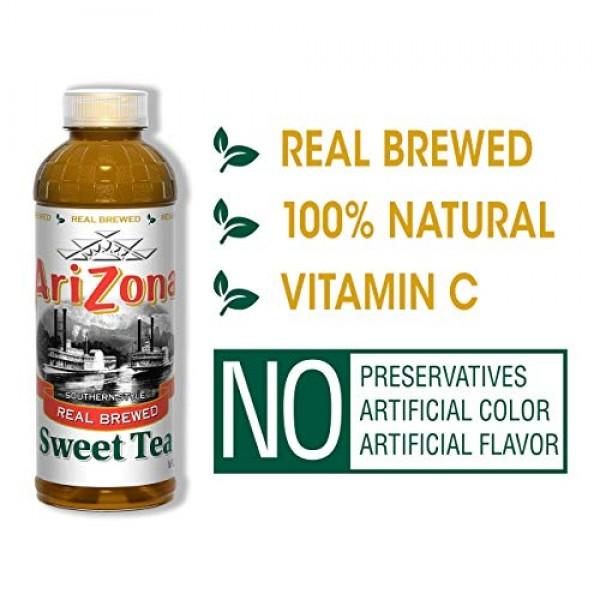 Arizona Tea   Premium Brewed Sweet Bottled Tea   12-Count   16-O...