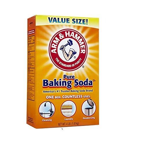 Arm & Hammer Baking Soda-4LB 01170 2 pack