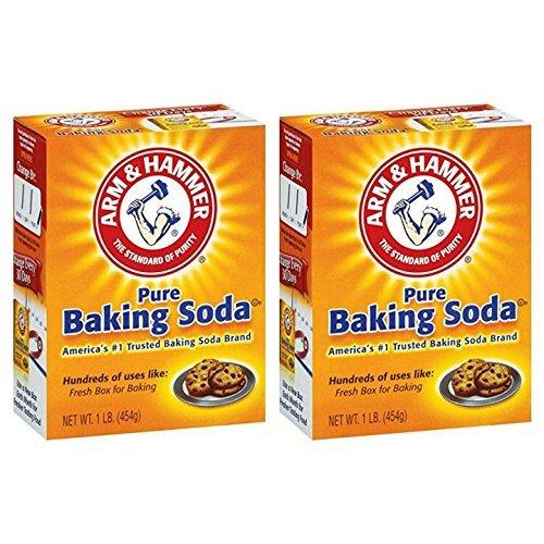 Arm & Hammer Pure Baking Soda 1 lb. Box Pack of 2