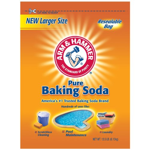 Arm & Hammer Pure Baking Soda 13.5 lb. pack of 2