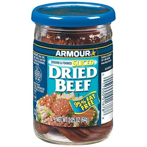 Armour Star Sliced Dried Beef, 2.25 oz.
